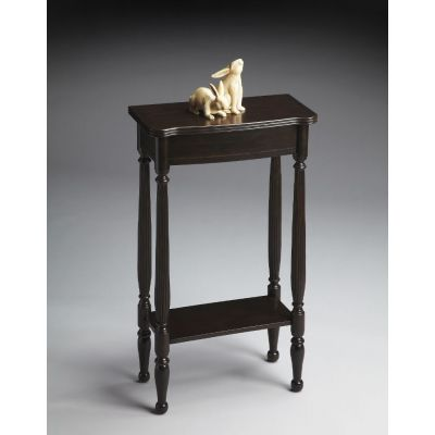 Whitney Rubbed Black Console Table - 3011234
