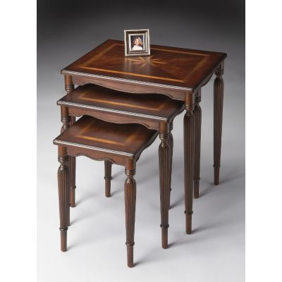 Winifred Plantation Cherry Nest Of Tables - 3021024