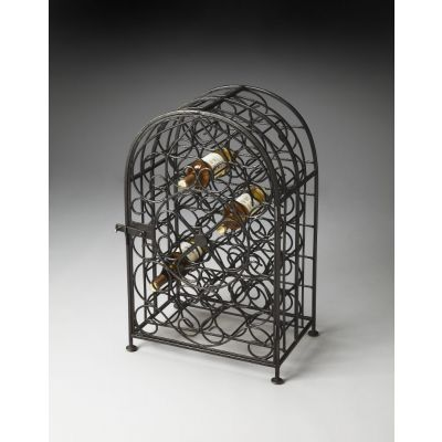 Clybourn Iron Wine Rack - 3119025