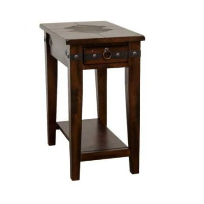 Santa Fe Chair Side Table - 3160DC-CS