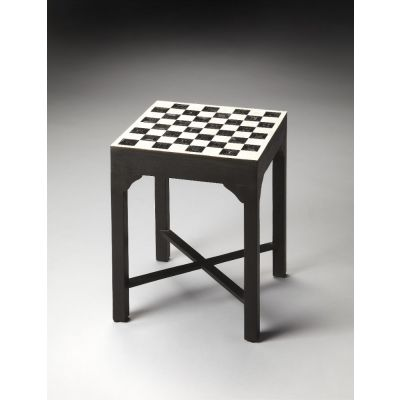 Bishop Bone Inlay Bunching Chess Table - 3204070
