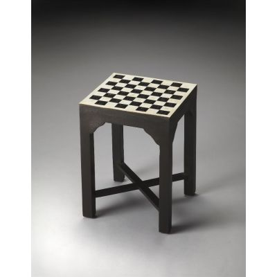 Bishop Bone Inlay Bunching Chess Table - 3206070