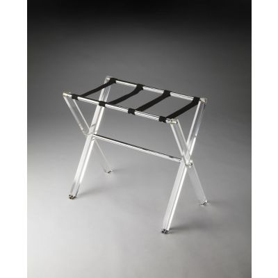 Crystal Clear Acrylic Luggage Rack - 3237140