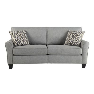 Strehela Sofa in Silver - 3310138