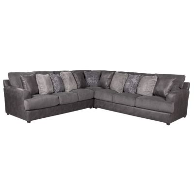 Cortland Sectional in Graphite and Steel - 001651_Kit