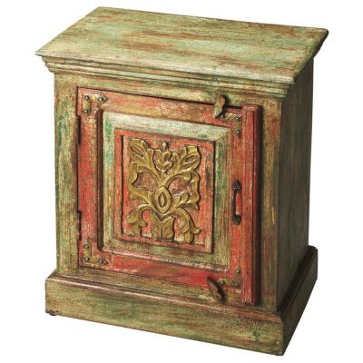 Jaljira Hand Painted Accent Cabinet - 3346290