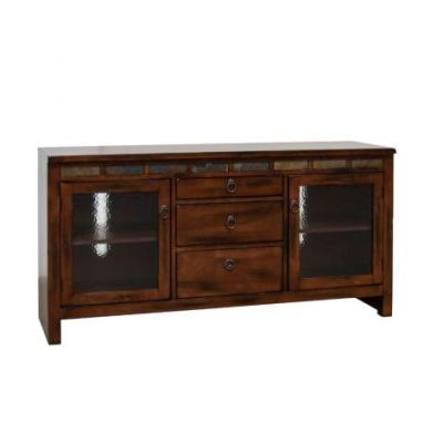 Santa Fe TV Console with Game Drawer - 3403DC-TC