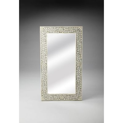 Bone Inlay Wall Mirror