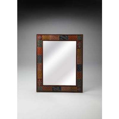 Hand Painted Wall Mirror - 3486290
