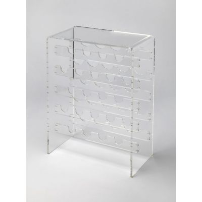 Crystal Clear Acrylic Wine Rack - 3614335