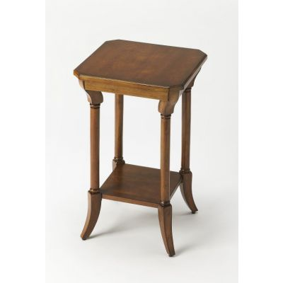 Darla Antique Cherry End Table - 3628011