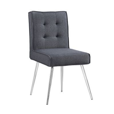 Astra Accent Chair in Dark Gray - 368362GRY02U