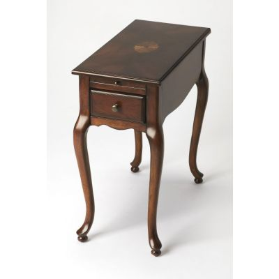 Croydon Plantation Cherry Chairside Table - 3743024