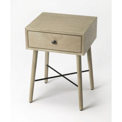 Delridge Gray End Table - 3791140