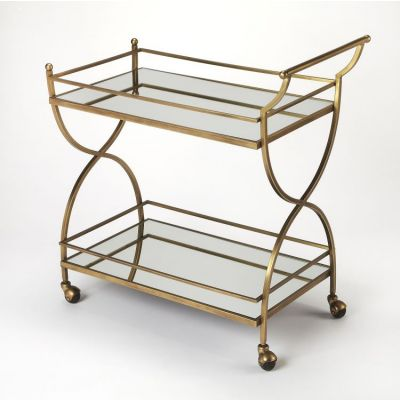 Graci Antique Gold Bar Cart - 3821226