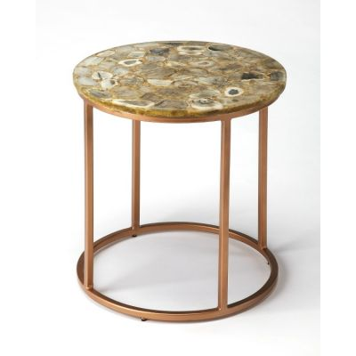 Cora Agate End Table - 3951140