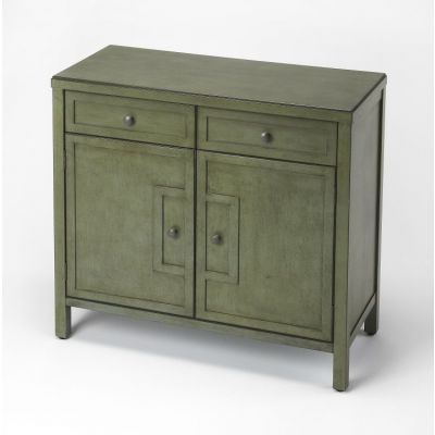 Imperial Green Console Cabinet - 3955140