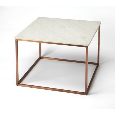 Holland Marble & Metal Cocktail Table - 3967389