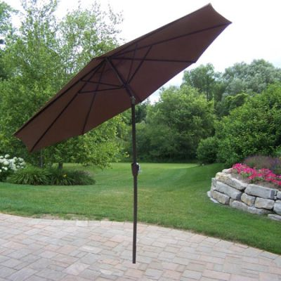 9 Ft Umbrella With Crank And Tilt - 4005-BN