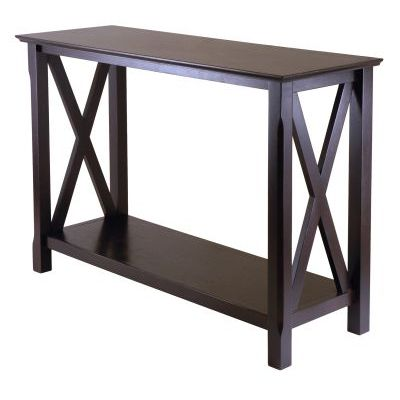 Xola Console Table in Cappuccino Finish - 40445