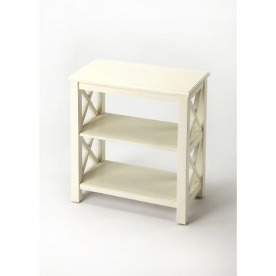Vance Cottage White Bookcase - 4105222