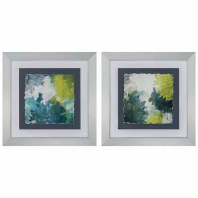 Blue Green Inspire (Set Of 2) - 4121