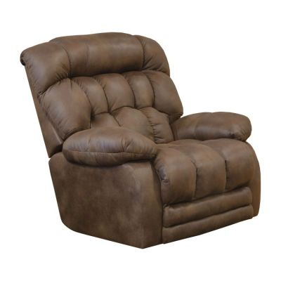 Horton Lay Flat Recliner w/Extended Ottoman in Sunset - 42107130079
