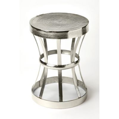 Broussard Industrial Chic End Table - 4326330