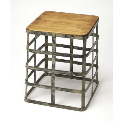 Gantry Industrial Chic End Table - 4338330