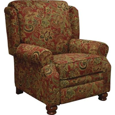 Belmont Reclining Chair in Red - 434711204914