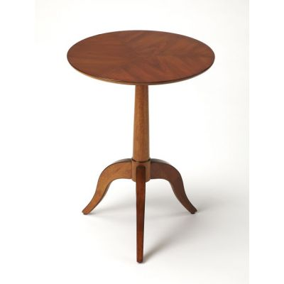 Broderick Olive Ash Burl End Table - 4352101