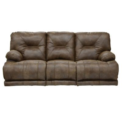 Voyager ''Lay Flat'' Reclining Sofa in Elk - 4381122829302829