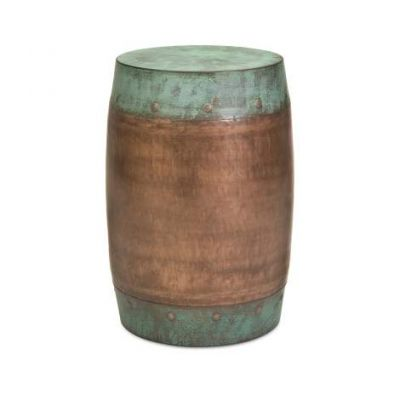 Rania Copper Plated Stool - 44195