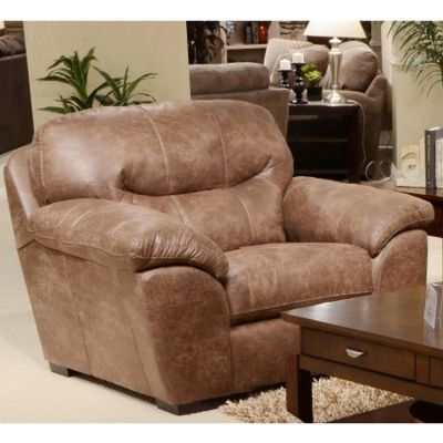 Grant Bonded Leather Chair in Silt - 445301122749302749
