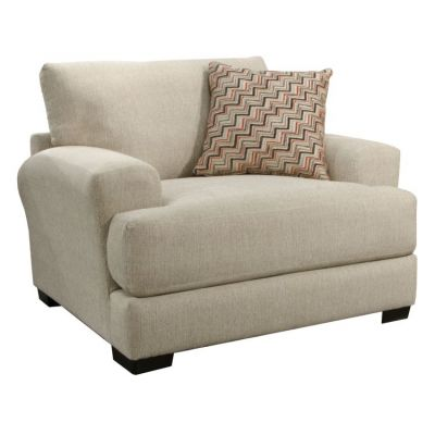 Ava Chair and Half w/USB Port in Cashew - 449825179636