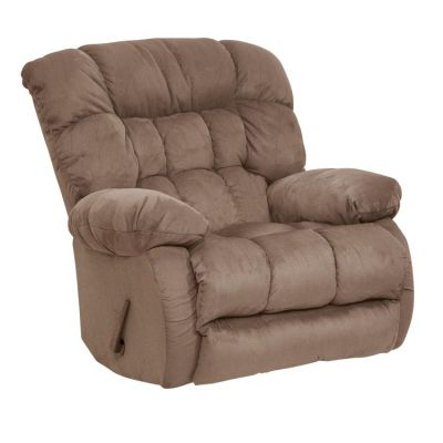 Teddy Bear Inch-Away Wall Hugger Recliner in Saddle - 45174222029