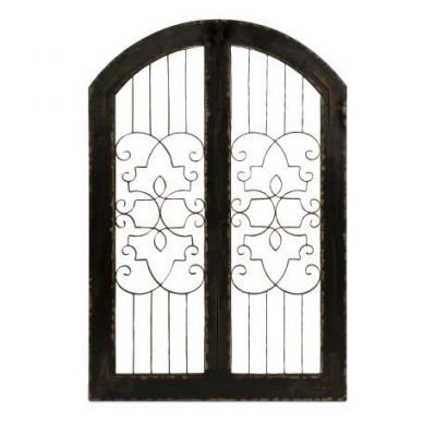 Amelia Iron And Wood Gate - 47367