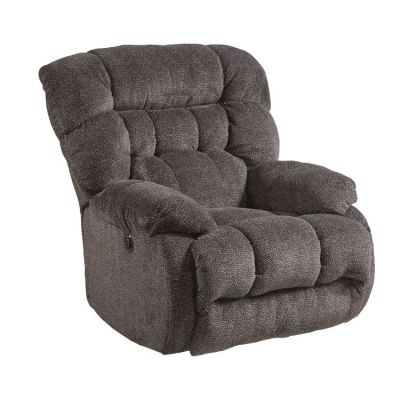 Daly Power Lay Flat Recliner in Cobblestone - 647657162228