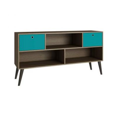 Modern Uppsala TV Stand with 3- Shelves and 2- Drawers - VEN039-4AMC134