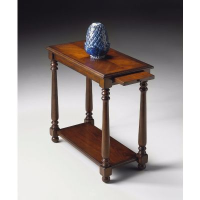 Devane Plantation Cherry Chairside Table - 5017024