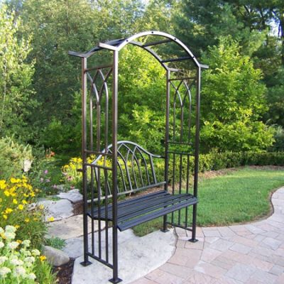 Royal Arbor With Bench - 5018-BK