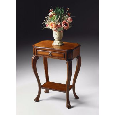 Channing Olive Ash Burl Console Table - 5021101