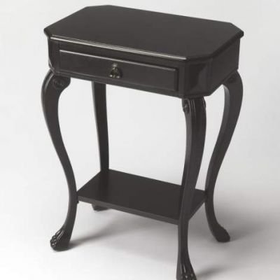Channing Black Licorice Console Table - 5021111