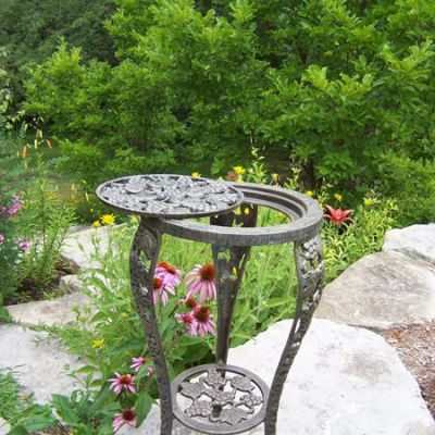 Grape Table Plant Stand - 5027-AB