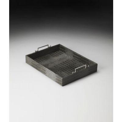 Paulo Leather Serving Tray - 5096016