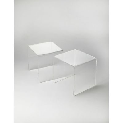 Crystal Clear Acrylic Bunching Table - 5168335