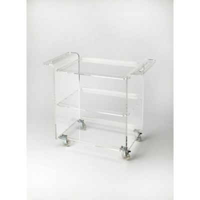 Crystal Clear Acrylic Trolley Server - 5169335