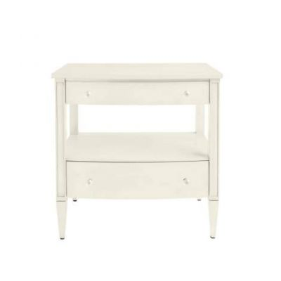 Coastal Living Oasis Mulholland Nightstand in Saltbox White - 527-23-80