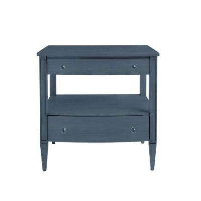 Coastal Living Oasis Mulholland Nightstand in Cotswold Blue - 527-43-80