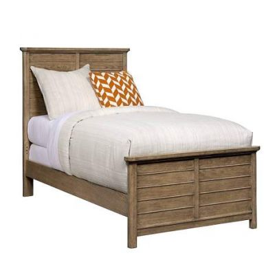 Driftwood Park Twin Panel Bed in Sunflower Seed - VEN025-536-13-35